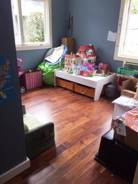 Playroom after organizing