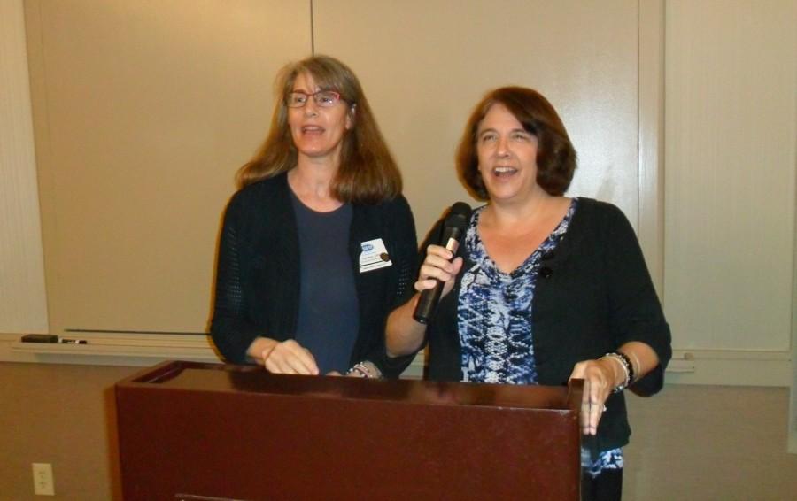 Lisa Mark, C.P.O. giving a presentation