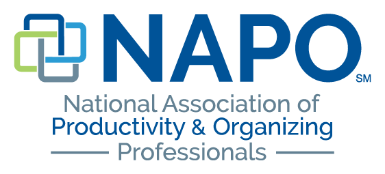 Logo for the National Association of Productivity & Organizing Professionals