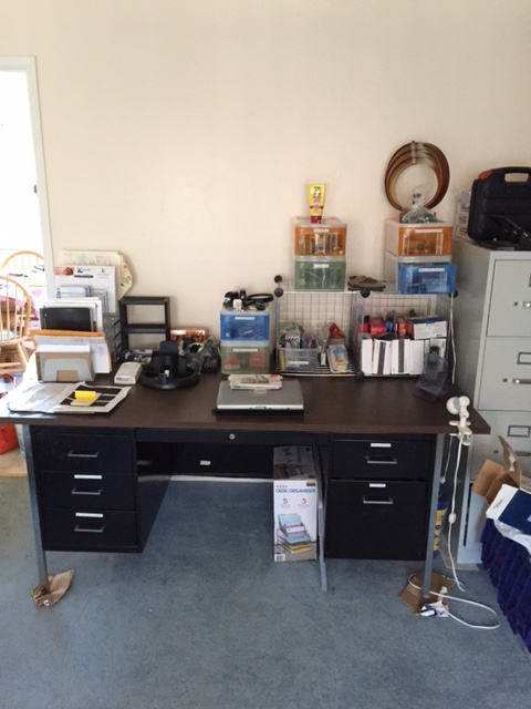 Workspace after organizing by The Time Butler