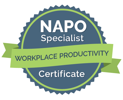 Workplace Productivity certificate